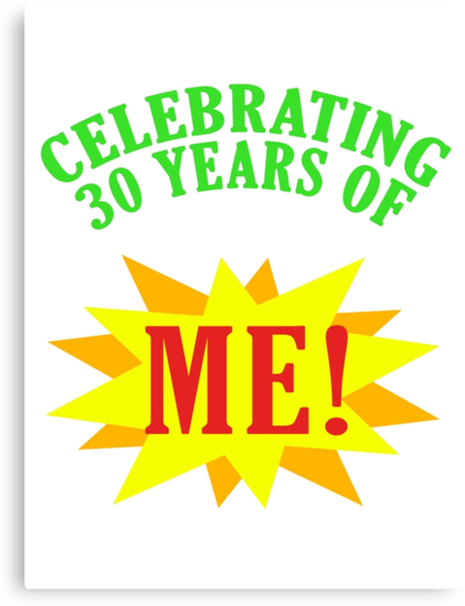 Celebrating 30th Birthday by thepixelgarden