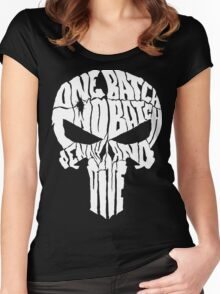 ONE BATCH, TWO BATCH PENNY AND DIME Women's Fitted Scoop T-Shirt
