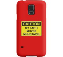 My Faith Moves Mountains Samsung Galaxy Case/Skin