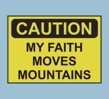 My Faith Moves Mountains Kids Clothes