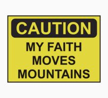 My Faith Moves Mountains Kids Clothes
