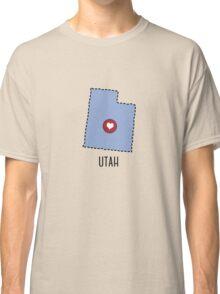 Utah State Heart Classic T-Shirt
