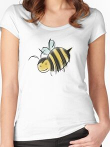 Bee Good, Do Good - GISHWHES Challenge Charity Bee Women's Fitted Scoop T-Shirt