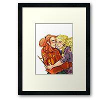 Ginny and Luna  Framed Print