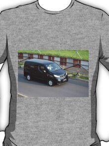black colored nissan evalia T-Shirt