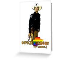 Wynonna Earp - Nicole Haught Greeting Card