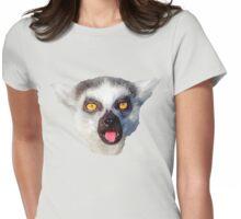 lemur, monkey, monkey Womens Fitted T-Shirt
