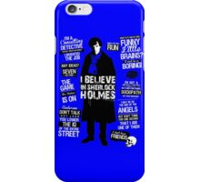 Detective Sherlock iPhone Case/Skin