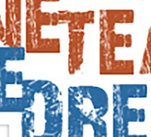 One Team One Dream Sticker