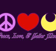 Peace, Love, and Sailor Moon by Ellador