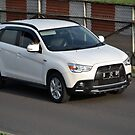white colored mitsubishi outlander sport by bayu harsa