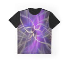 The Violet Flame. Spirituality Graphic T-Shirt