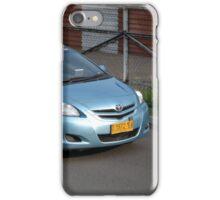 blue bird taxi iPhone Case/Skin