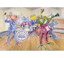 Froggy Band Photographic Print