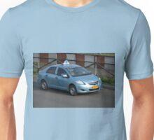 blue bird taxi Unisex T-Shirt