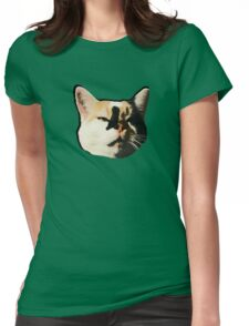 Lumi Cat Womens Fitted T-Shirt