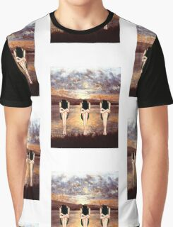 CONTEMPLATING THE SUNSET Graphic T-Shirt
