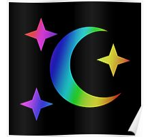 MLP - Cutie Mark Rainbow Special - Moon Dancer Poster