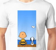 Snoopy And Charlie Unisex T-Shirt