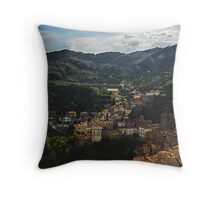 Over and over again the light Throw Pillow