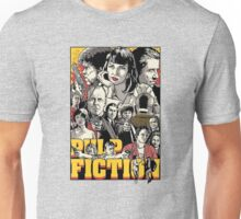-TARANTINO- Pulp Fiction Poster Style Unisex T-Shirt