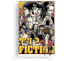 -TARANTINO- Pulp Fiction Poster Style Canvas Print