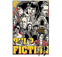 -TARANTINO- Pulp Fiction Poster Style Photographic Print