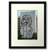 Monument to Che Guevara Framed Print