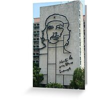 Monument to Che Guevara Greeting Card