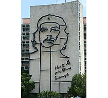 Monument to Che Guevara Photographic Print
