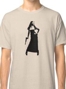 Gun totting nun! Classic T-Shirt