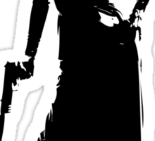 Gun totting nun! Sticker