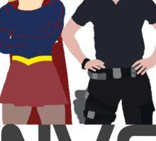 Supergirl - Danvers - Sisters Sticker