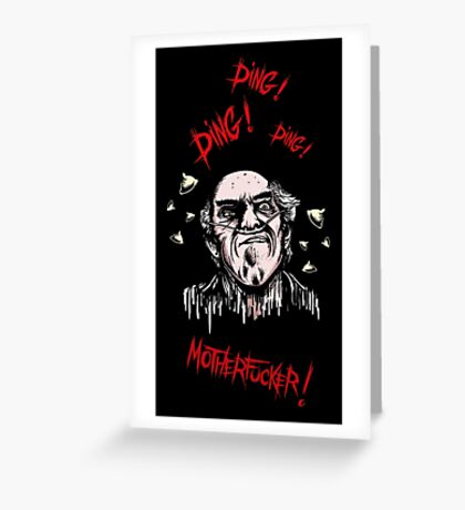 Breaking Bad - Ding Ding Motherfucker Greeting Card