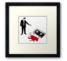 Save the Mix Tape! Framed Print