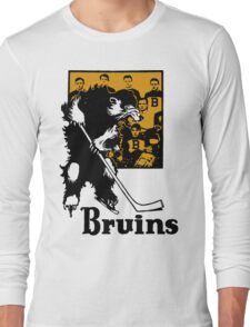 Bruins 1929 Yearbook - Fanned Shots Sports Apparel Long Sleeve T-Shirt