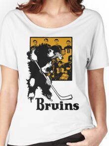 Bruins 1929 Yearbook - Fanned Shots Sports Apparel Women's Relaxed Fit T-Shirt