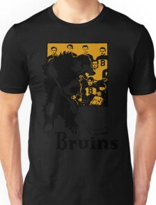 Bruins 1929 Yearbook - Fanned Shots Sports Apparel Unisex T-Shirt