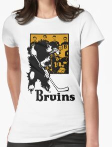 Bruins 1929 Yearbook - Fanned Shots Sports Apparel Womens Fitted T-Shirt
