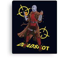 Deadshot Dc Comics Canvas Print