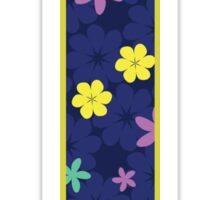Flower Letter I Sticker