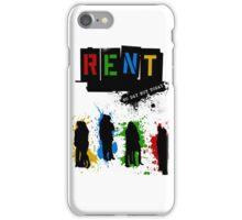 RENT Musical Paint Splash iPhone Case/Skin