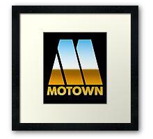 MOTOWN DISCO RECORDS (MIRROR 80s) Framed Print