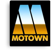 MOTOWN DISCO RECORDS (MIRROR 80s) Canvas Print