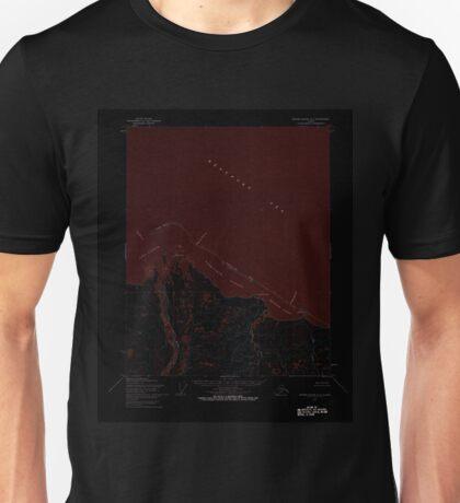 USGS TOPO Map Alaska AK Barter Island A-4 354214 1955 63360 Inverted Unisex T-Shirt