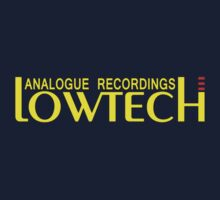Lowtech analogue recordings yellow One Piece - Short Sleeve