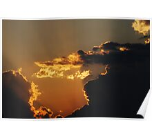 Canadian Sunset Poster