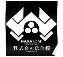 NAKATOMI PLAZA - DIE HARD BRUCE WILLIS (WHITE) Poster