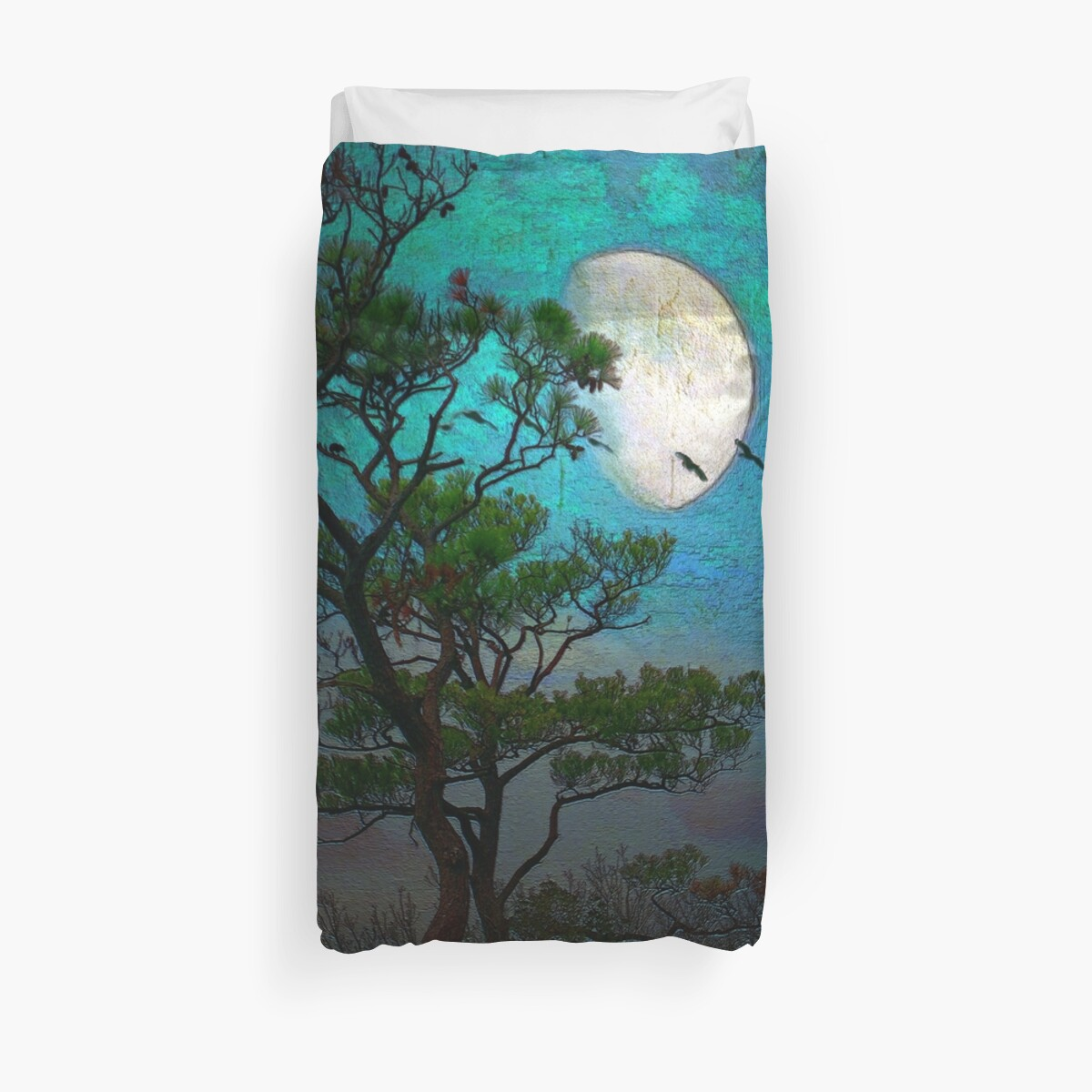 Moonlight ~ Duvet by Susan Werby