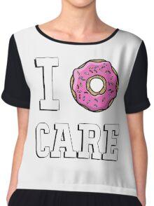 I donut care Chiffon Top